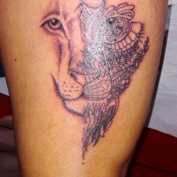 tattoo-leone